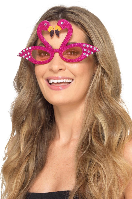 Flamingo Sparkle Glasses