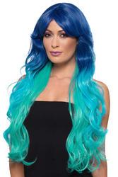 Extra Long Wavy Mermaid Fashion Ombre Wig