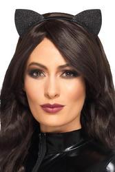 Glitter Vinyl Cat Ears