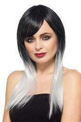Deluxe Grey Ombre Wig