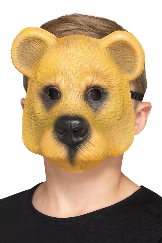 Bear Mask Kids Costume Accessory