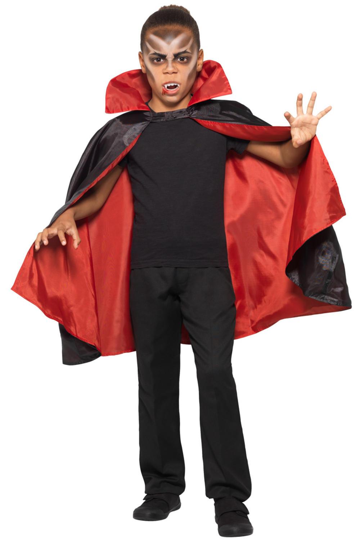 Reversible Vampire Kids Cape