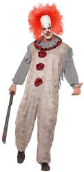 Vintage Clown Mens Costume