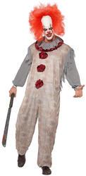 Vintage Clown Mens Costume