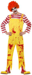 Kreepy Killer Clown Mens Costume