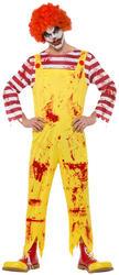 Kreepy Killer Clown Mens Costume
