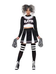 Fever Gothic Cheerleader Ladies Costume