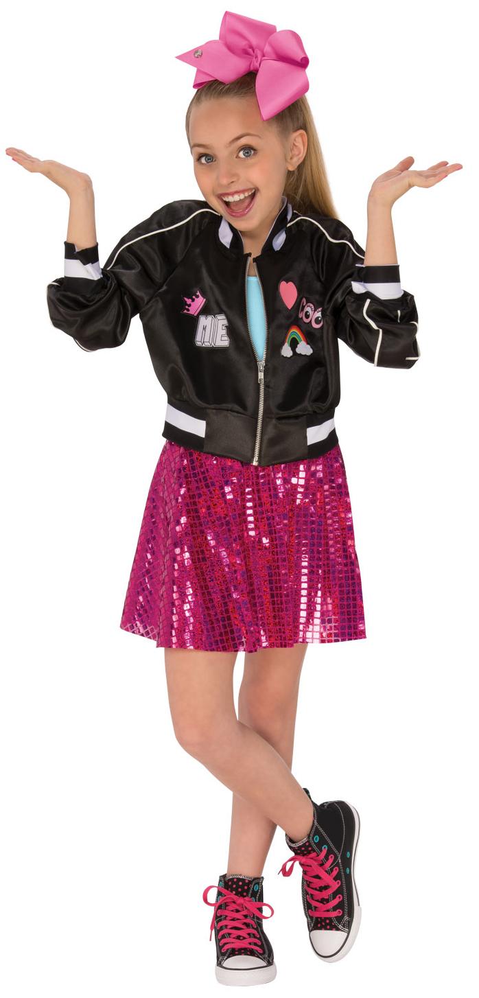 Jojo Siwa Bomber Jacket Girls Costume Tv Book And Film