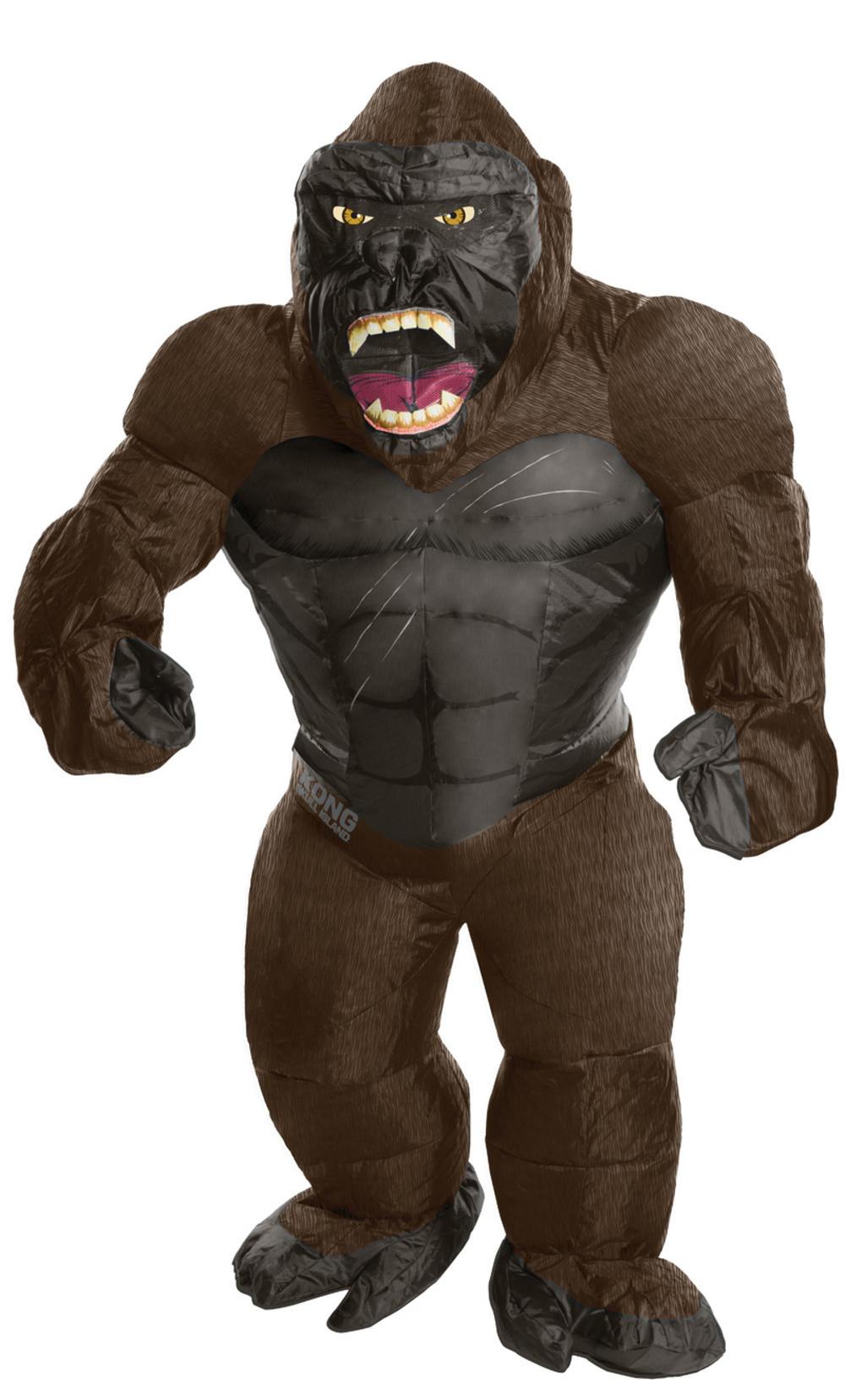 Inflatable King Kong Mens Costume