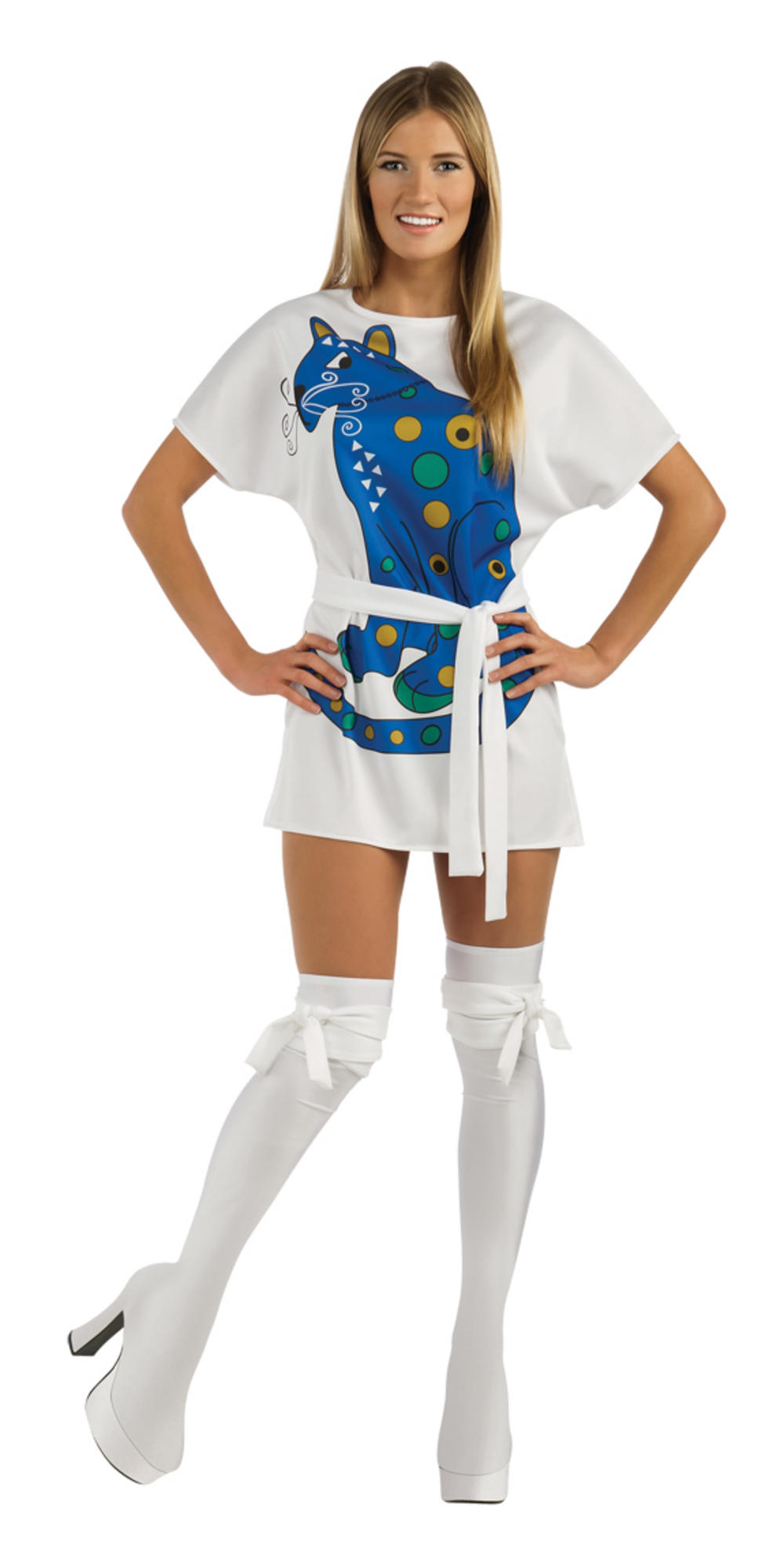 Officially Licensed Abba Agnetha 70s Dress Costume