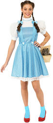 Ladies' Wizard of Oz Dorothy Fancy Dress Costume