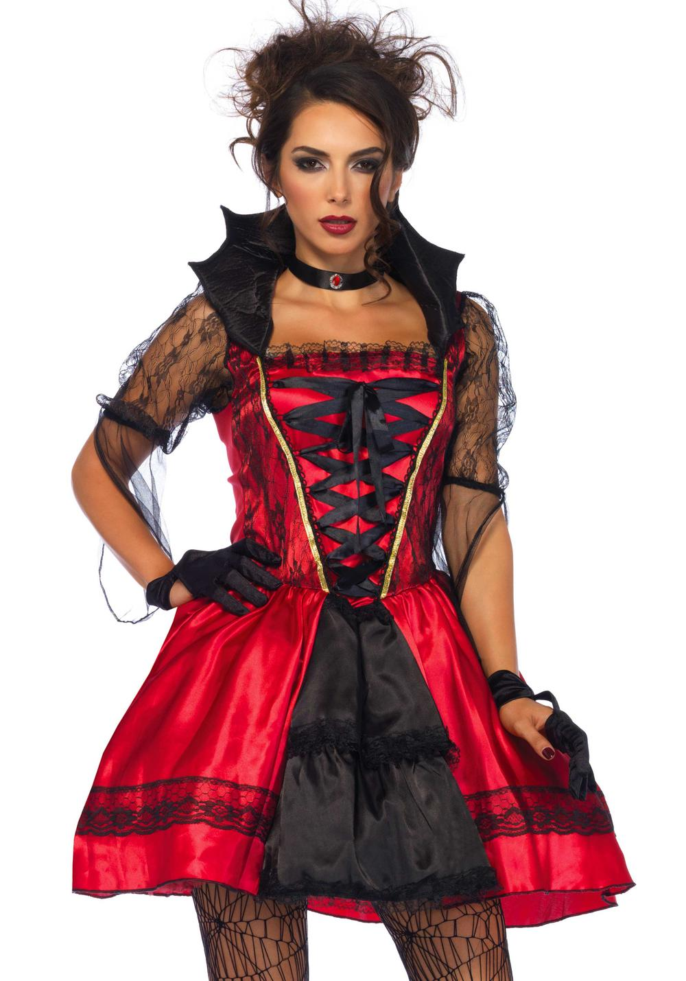 Gothic Vampire Ladies Costume