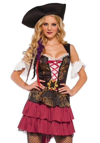 Pirate Beauty Ladies Costume