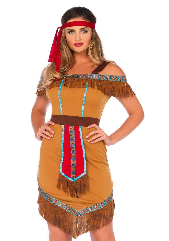 Native Princess Ladies Costume
