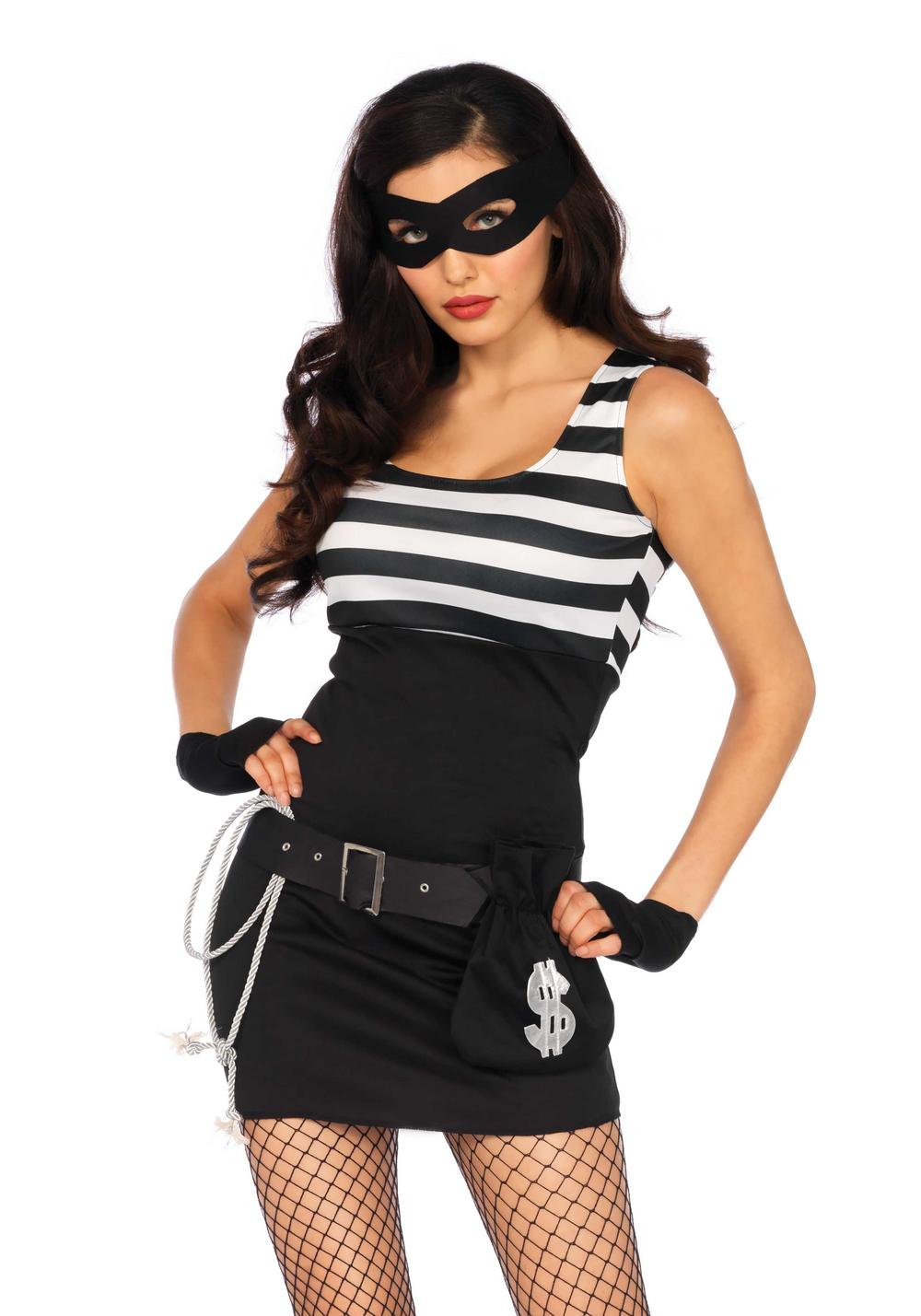 Bank Robbin' Bandit Ladies Costume
