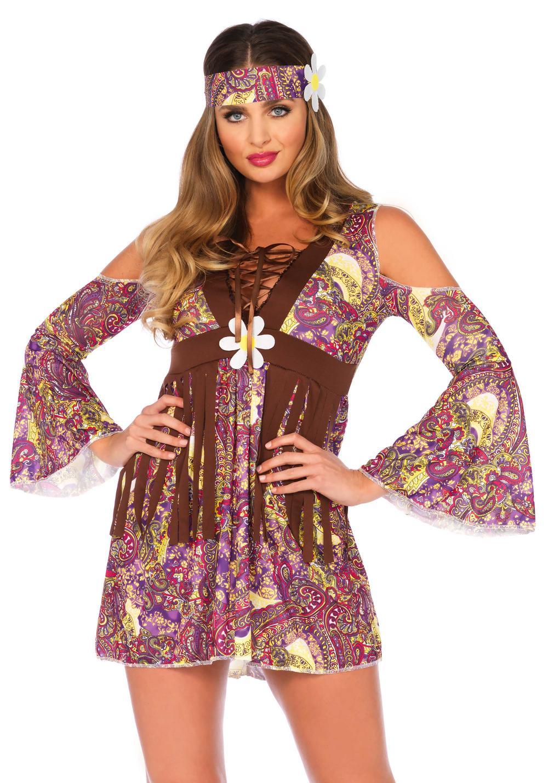 Boho Hippie Ladies Costume