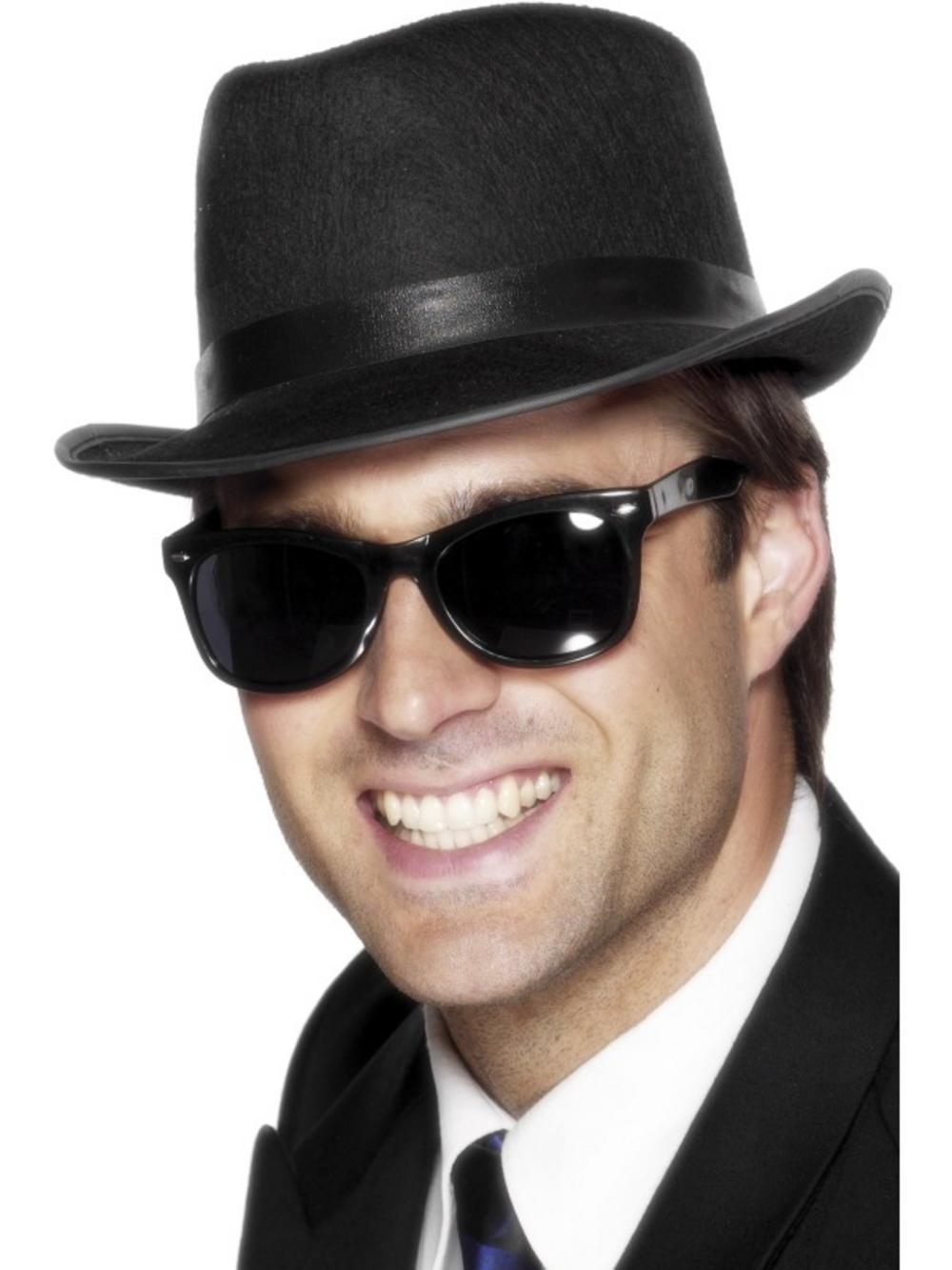 aa4cee6c5c8db Black  Cool  Shades Sunglasses Costume
