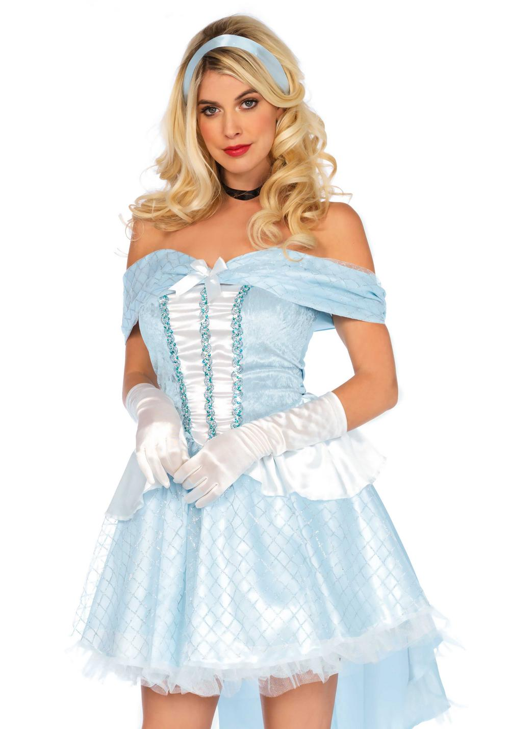 Glass Slipper Ladies Costume