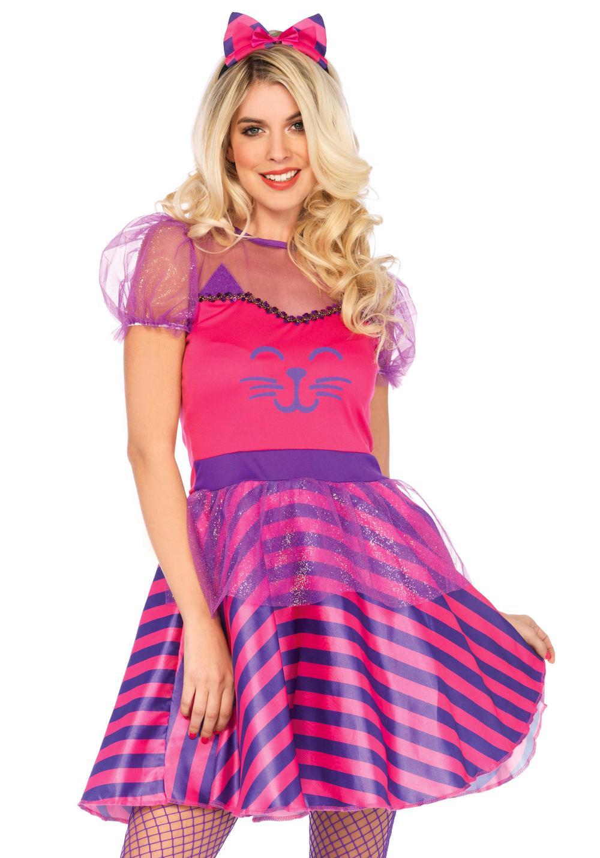 Miss Cheshire Cat Ladies Costume