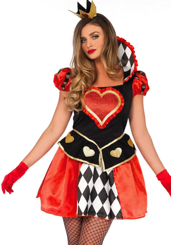Queen Of Hearts Ladies Costume