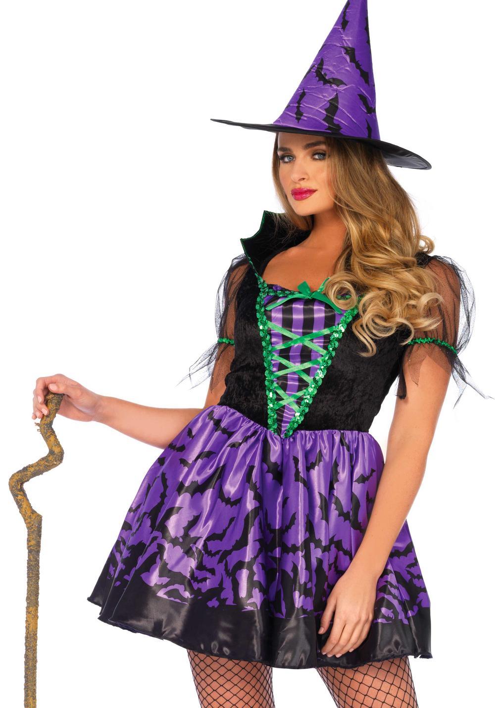 Bat Wing Witch Ladies Costume
