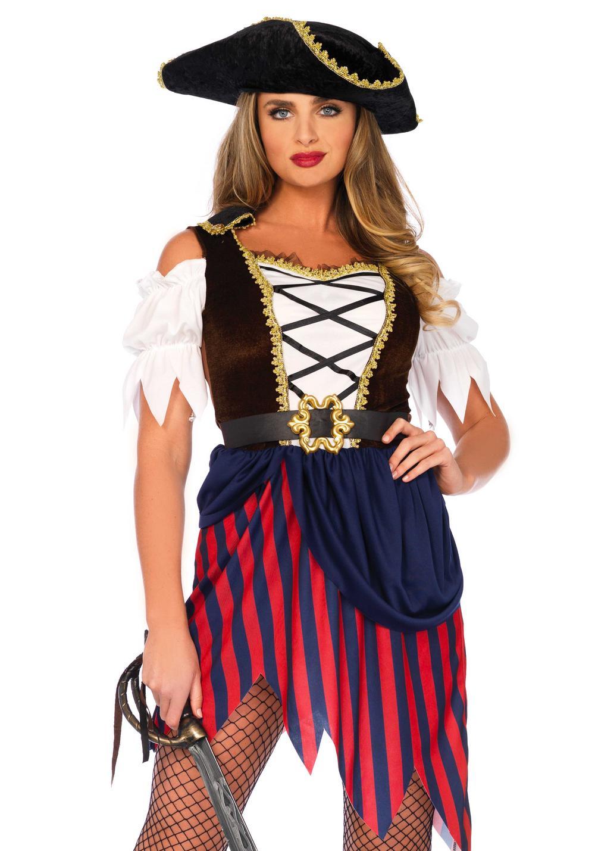Pirate Captain Ladies Costume