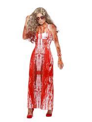 Bloody Prom Queen Fancy Dress Costume