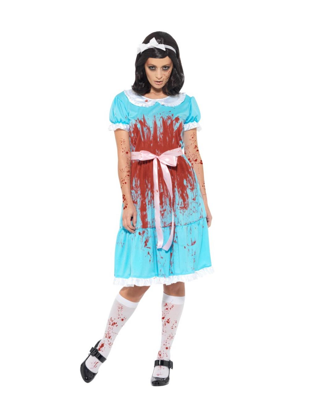 Ladies Bloody Prom Queen Costume