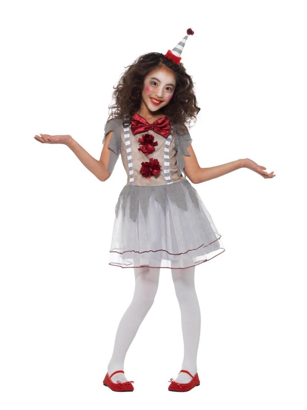 Vintage Clown Girl Costume