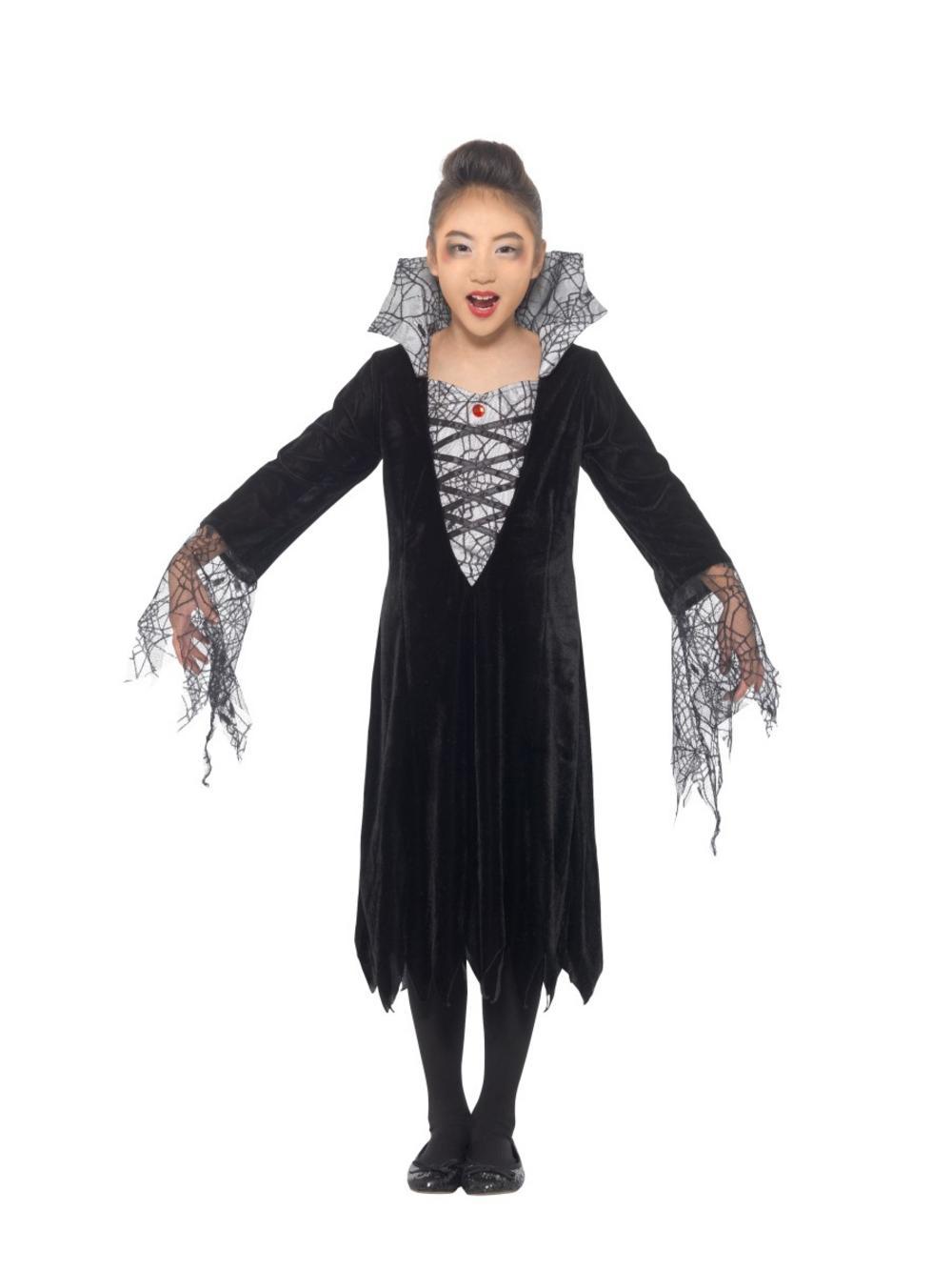 Girls Spider Vampire Costume