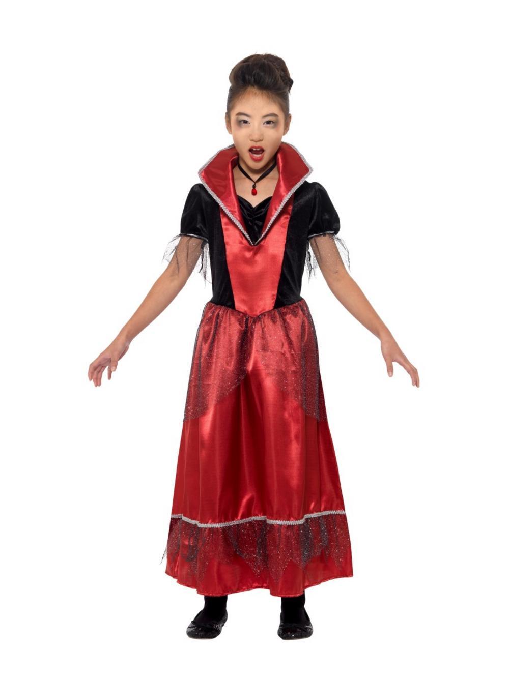 Girls Vampire Queen Costume