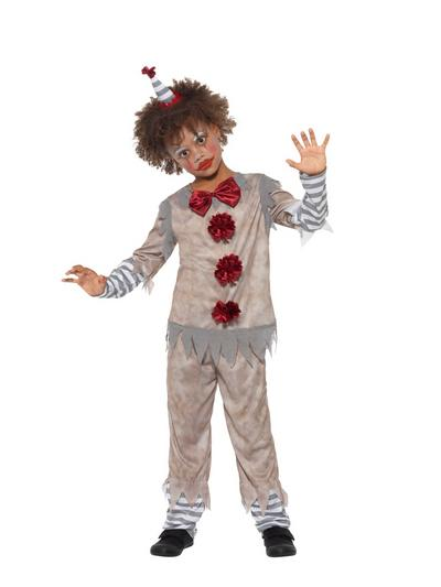 Vintage Clown Boy Costume