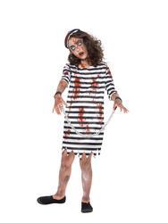 Zombie Convict Girl Costume
