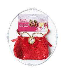 Girls Disney Princess Snow White Bag and Jewellery Costume Set