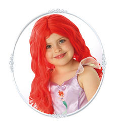 Girls Disney Princess Ariel Red Wig Costume