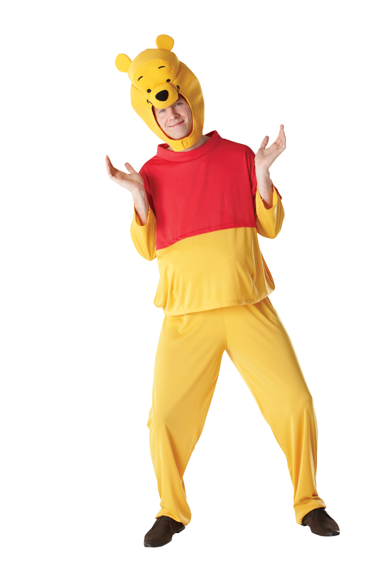 9656d1d9c10e Adults  Winnie The Pooh Fancy Dress Costume
