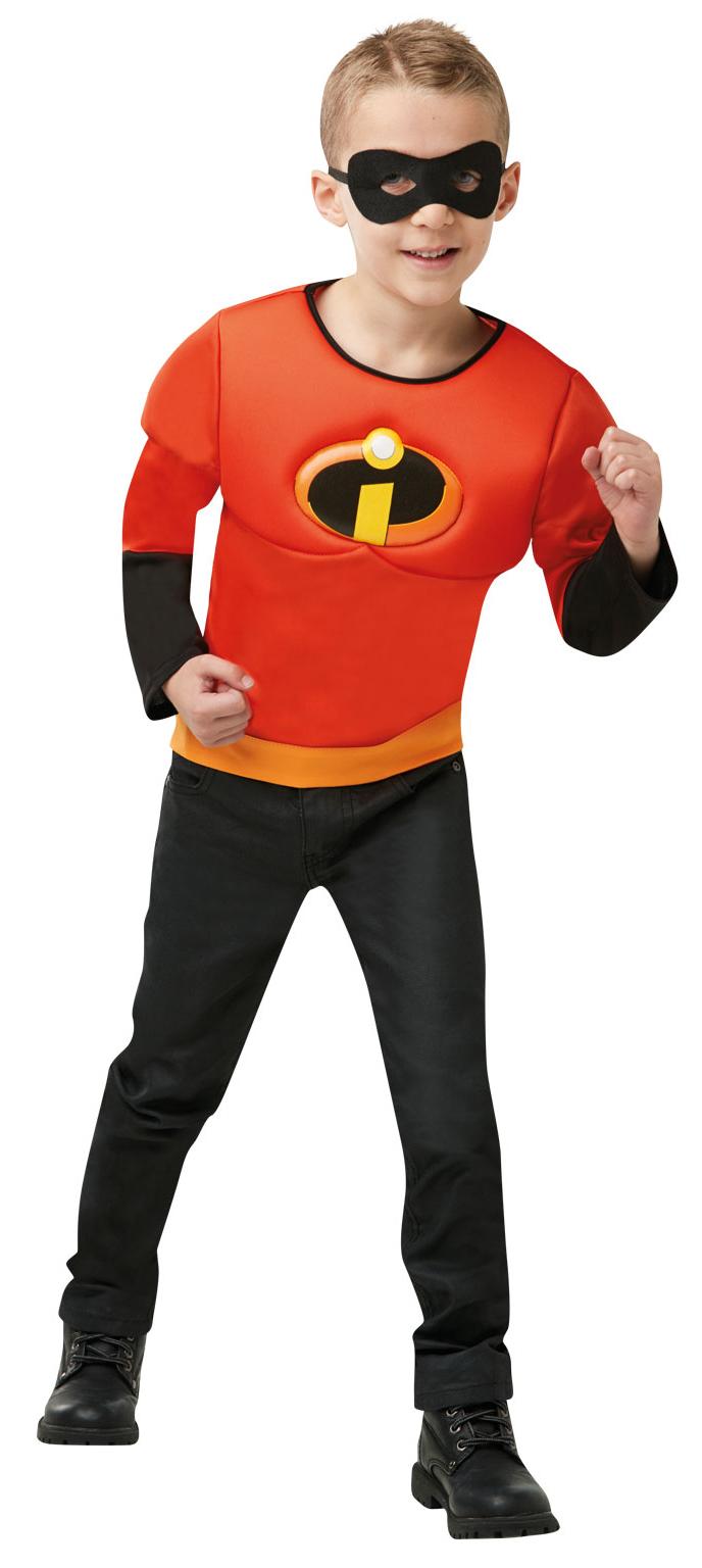 Il GLI INCREDIBILI 2 Ragazze Costume Super Eroe Disney Kids Bambino Costume Outfit