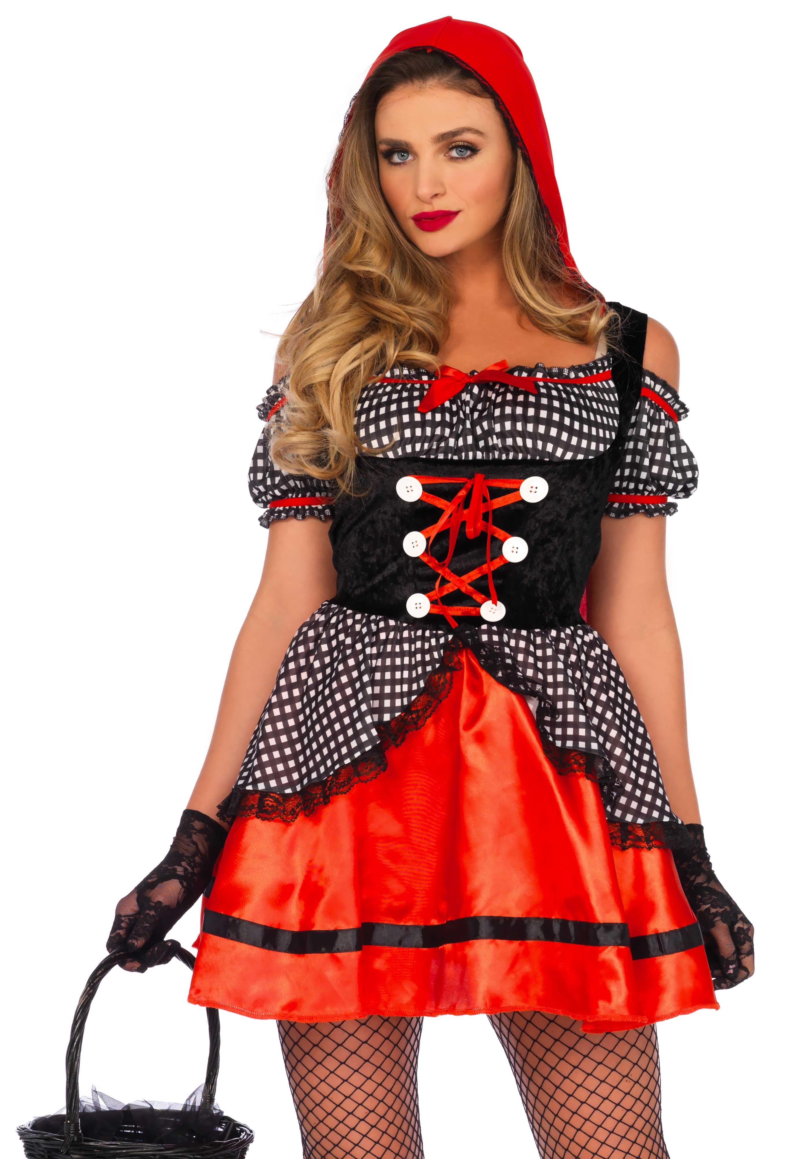 little red riding hood ladies fancy dress leg avenue womens