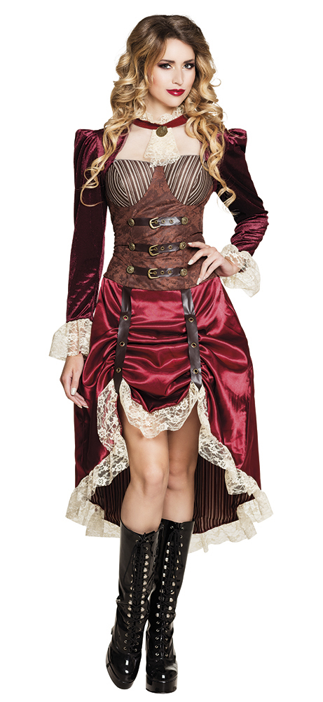 SteamPunk General Cosplay 3 Piece Adult Costume One-Size Fits Most SEALED UNWORN