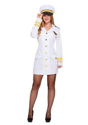 Navy Girl Adults Costume