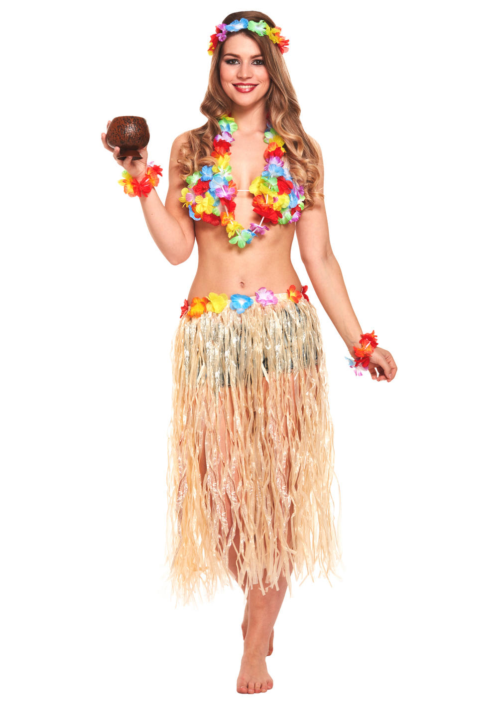 Hawaiian Girl Adult Costume