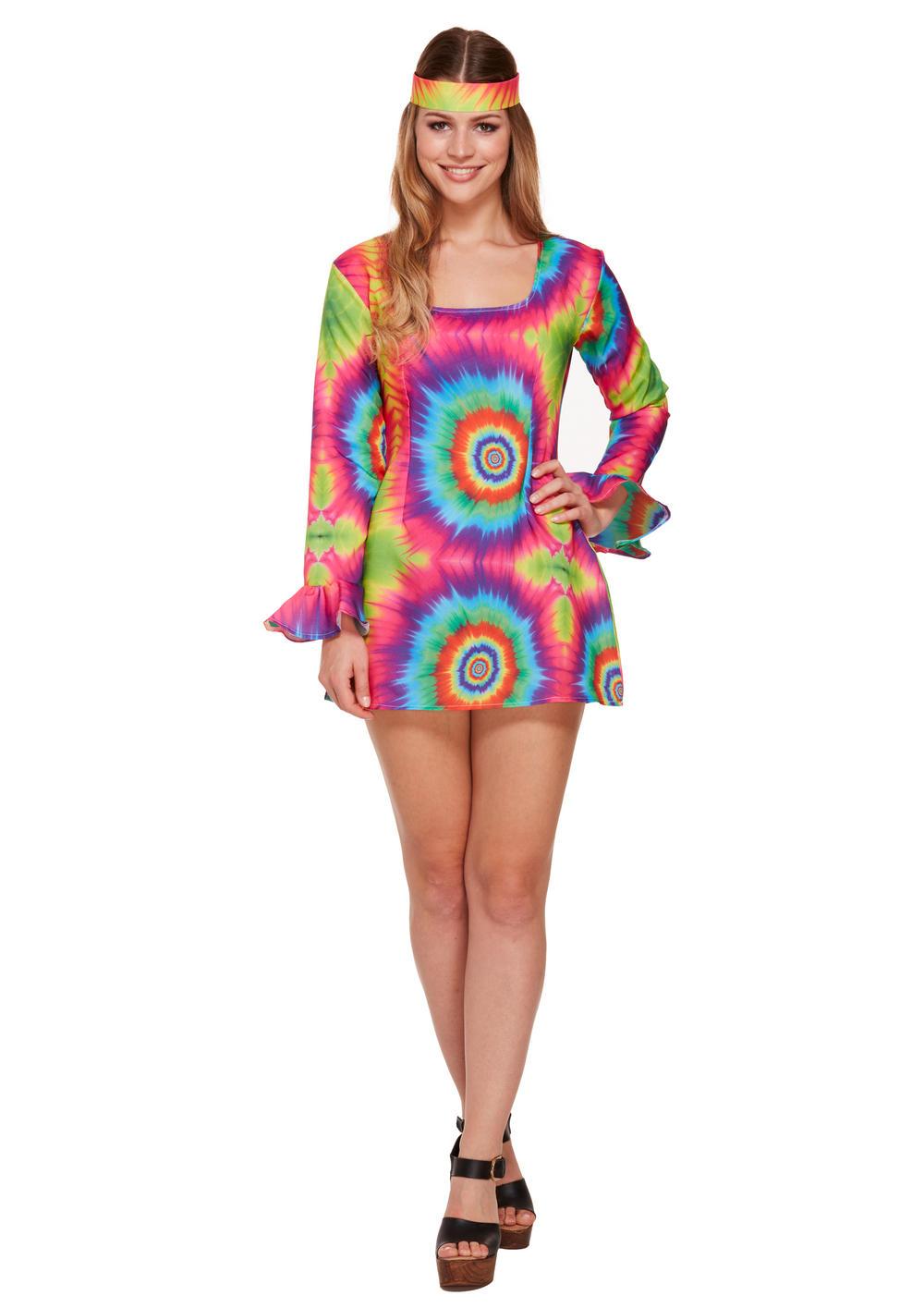 Tie Dye Hippie Costume