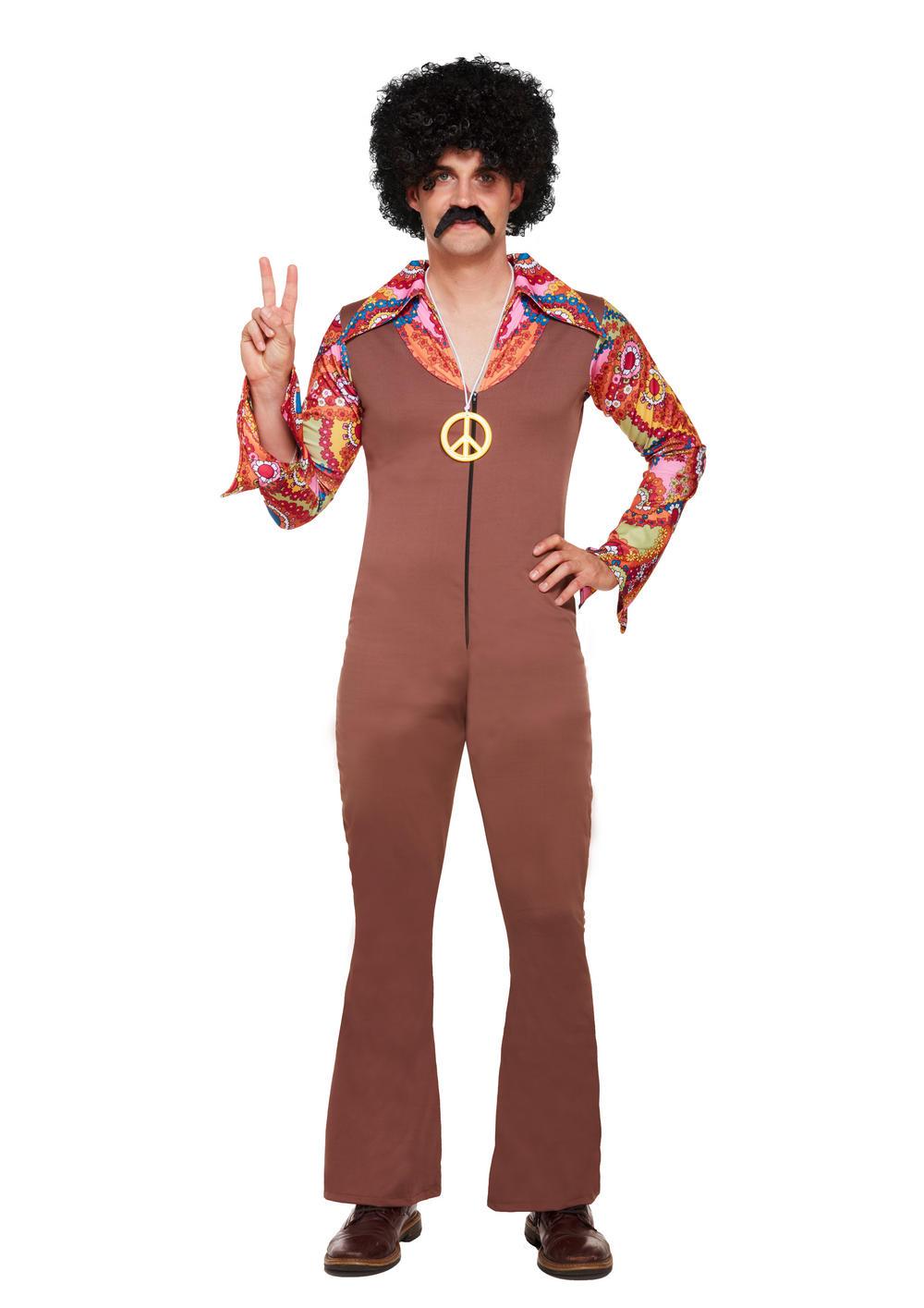 70s Hippie Mens Costume