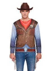 Cowboy Adult Shirt