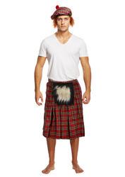 Kilt with Sporran Mens Costume