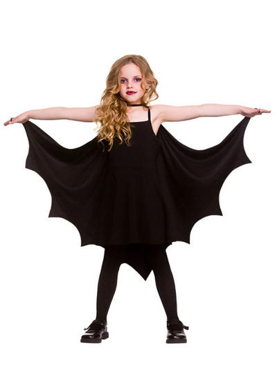 Kids Bat Cape Costume Accessory