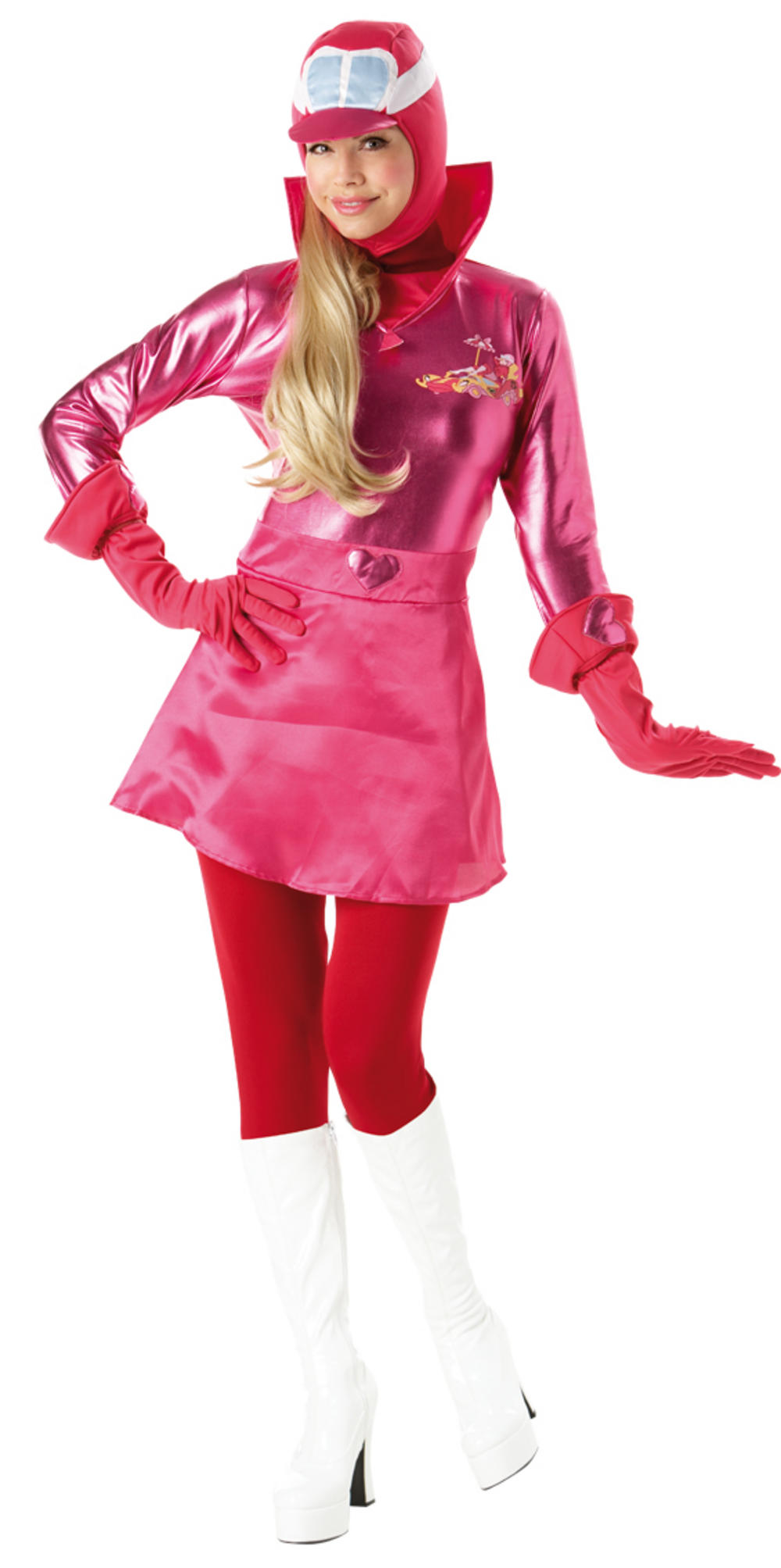 Ladies' Whacky Races Penelope Pitstop Fancy Dress Costume