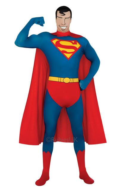 Superman Second Skin Suit