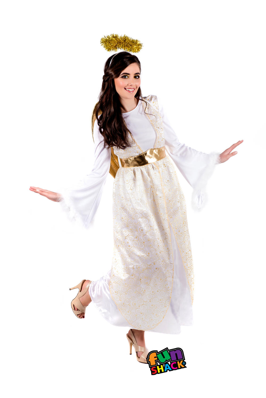 Ladies Angel Costume