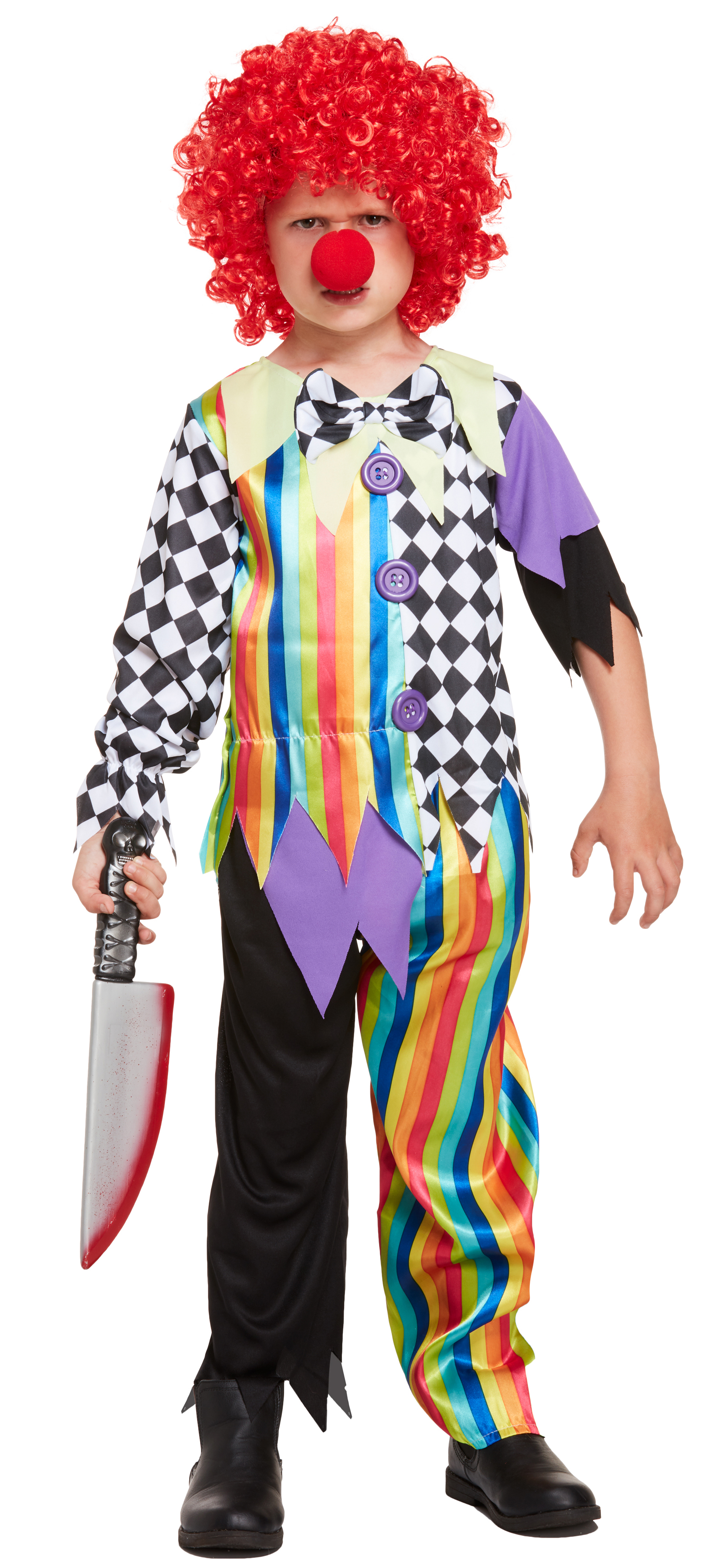 Killer Clown Halloween Costumes For Girls.Details About Killer Clown Kids Halloween Fancy Dress Circus Boys Girls Childrens Costume